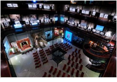 il salone del Museo del Ciema